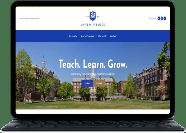 Sitio para Colegios Uruguay